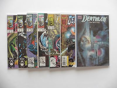 Deathlok Lot 7 Issues Marvel Comics