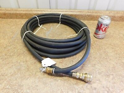 """50' NEW Scott Breathing Air Hose 300 PSI 5/8"""" OD Made in USA NEW"""