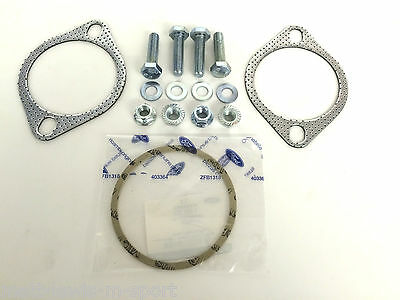 Focus RS MK2 2009> Exhaust Downpipe & Decat Gaskets & Fittings - Mongoose etc