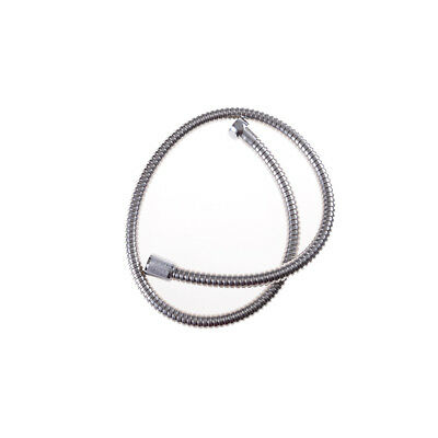 New 1m Stainless Steel Flexible Chrome Shower Hose Bathroom Heater Water Pipe