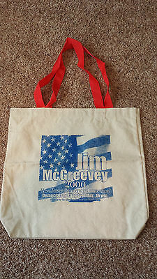 Canvas Bag For New Jersey Governor James McGreevey