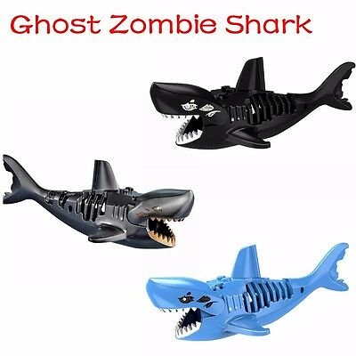 Ghost Zombie Shark Action Sale Pirates of the Caribbean Building Bricks Toys