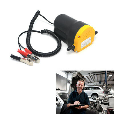12V 60W Electric Fluid Extractor Oil Diesel Transfer Pump Siphon Car Motorcycle