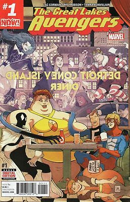 The Great Lake Avengers #1 (2016) 1St Printing Marvel Comics