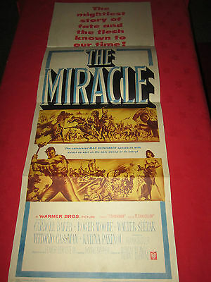 The Miracle - Original US Insert Poster - 1959 - (Roger Moore)