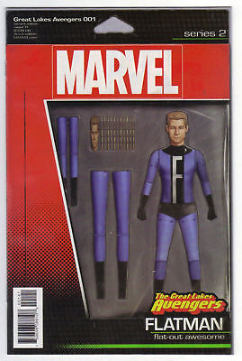 The Great Lake Avengers #1 Action Figure Variant (2016) Marvel Comics