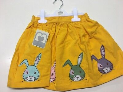 Gorgeous Age 4/5 Years Cord Bunny Detailed Skirt. Rrp £14.00 Bargain!!!!