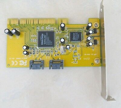 carte PCI double SATA interne