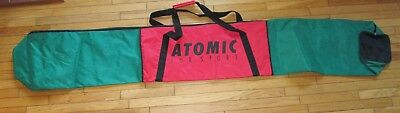 ATOMIC ski bag - red + green - 2.1m long (about 82 inches) - excellent condition