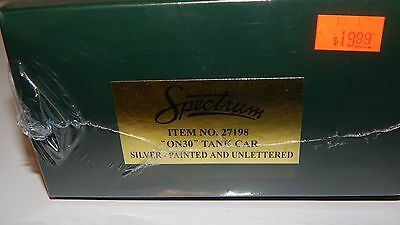 Bachmann On30 #27198 Silver Tank Car RTR NEW