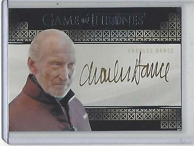 Game of Thrones Valyrian Steel Charles Dance VALYRIAN autograph