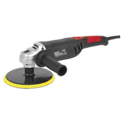Digital Sealey Lightweight Electric Polisher Er1700Pd 14Mm Thread Variable Speed