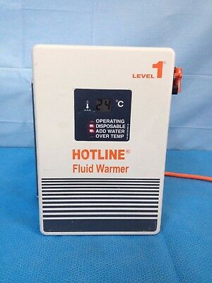Hot Line Blood Fluid Warmer Model Level One Hl-90