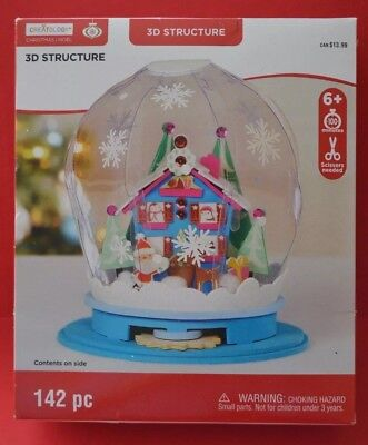 Christmas Noel 3D Structure Craft 142pc Globe by Creatology New