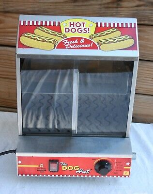 Paragon The Dog Hut 8020 Industrial Hot Dog Making Machine