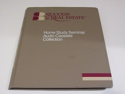 Success in Real Estate Home Study Seminar Collection Course 8 Audio Cassettes