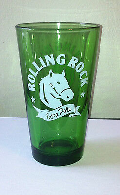 Rolling Rock Extra Pale Beer Glass