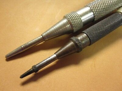 Starrett 18 AA Spring Loaded Center Punch * Made in USA