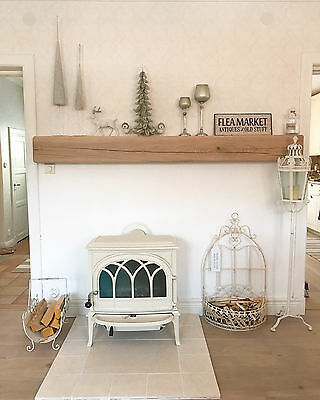 Fireplace Mantle,Rustic Solid Oak Beam, Mantelpiece, Lintel, - FREE FIXINGS!!!