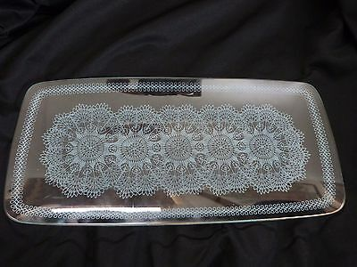 Chance Glass Lace Pattern Dish