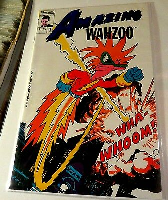 The Amazing Wazoo #1 Solson Publications Copper Age  CB2193