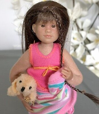 ONLY HEARTS CLUB DOLL W/ Puppy - Slumber Party - CLEAN CONDITION - PINK OUTFIT