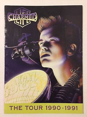 Vintage 1990s Billy Idol The Charmed Life Concert Tour Program Book 1990 1991