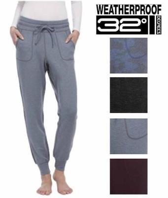 SALE! NEW 32 Degrees Weatherproof Ladies' Jogger Pants SIZE COLOR VARIETY