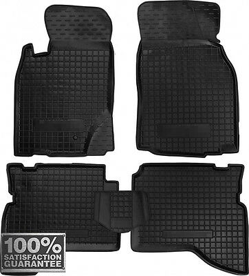 Rubber Carmats for Mitsubishi Pajero Sport 1998-2008 All Weather Floor Mats