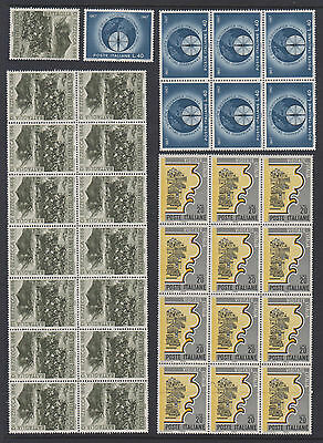 Italy - 99 MUH Stamps (4 Types) - 3 Scans