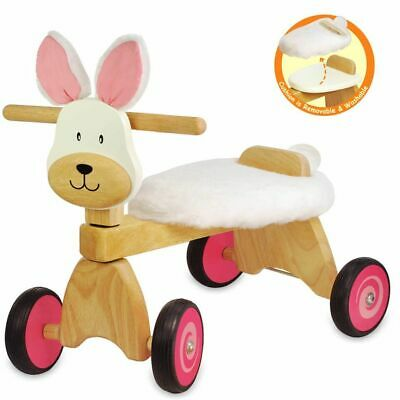 I'm Toy - Paddie Rider Bunny Educational Wooden Toy