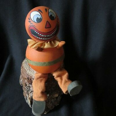 Primitive Halloween Folk Art Jackman by Connie Krizner