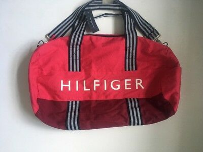 Brand New Tommy Hilfiger Woman's Pink Duffle Bag Large Size