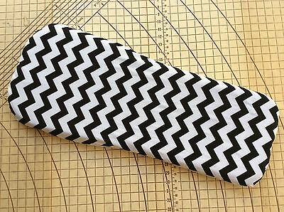 Baby Jogger Deluxe fitted sheet for carrycot bassinet Black & white chevron