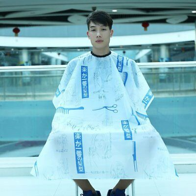 Waterproof Hair Cloth Salon Barber Gown Cape Hair Tools Beauty Girl Patterns GT