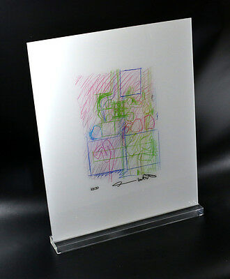 Hermann Nitsch - Drawing 5 - Autographed and Numbered