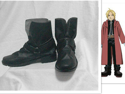 Fullmetal Alchemist Edward Elric Cosplay Shoes Tailor-Made S008
