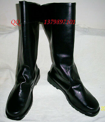 Fullmetal Alchemist Roy Mustang Cosplay Shoes Boots S008
