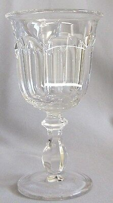 Imperial Glass Ohio OLD WILLAMSBURG Water Goblet Stem Glass XLNT 6 Available