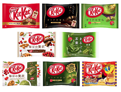 Kitkat Kit Kat Nestle Japan  Variety 8 Flavours Japanese Chocolate Free Shipping