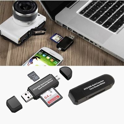 Smart Phone Andriod SD Card Reader Converter USB Connector OTG Adapter