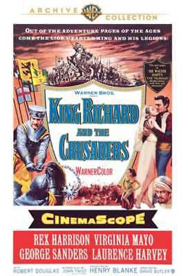 King Richard and the Crusaders NEW DVD