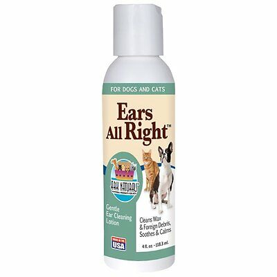 Ark Naturals - Ears All Right For Dogs & Cats - 4 oz.