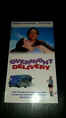 Overnight Delivery (Brand New VHS, 1998) Paul Rudd