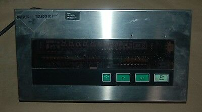 Mettler Toledo ID1 Plus Weighing Terminal Scale Head Indicator DND1500g 230v