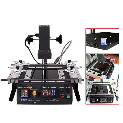 IR6500 BGA rework station soldering system Infrared reballing machine For Xbox