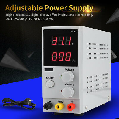 30V 5/10A Adjustable LED Display DC Power Supply Switching Power  AC110/220V