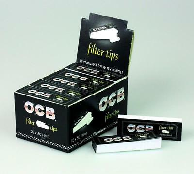 3 er Pack OCB 9001 Filter Tips 25 Heftchen, 50 Blatt