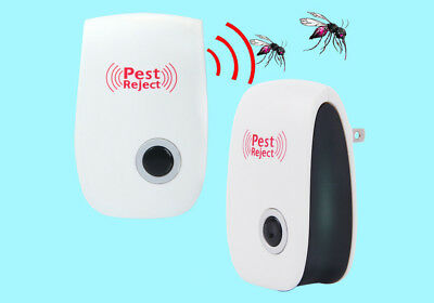 1 / 4pcs Ultrasonic Pest Reject Electronic Repeller Anti Mosquito Insects Killer