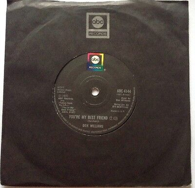 Don Williams - You're My Best Friend / I Don't Want The Money - 1976 - Excellent